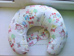 Подушка для шеи - хлопок большая