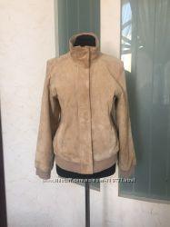 Натуральная замшевая куртка Departure, разм 42