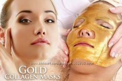 Коллагеновая маска для лица Gold Bio-collagen Facial Mask.