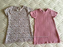 H&M. MATALAN. 1-3 год. Трикотажные платьица в отличном состоянии