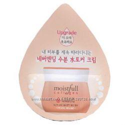 Крем для лица увлажняющий Moistfull Super Collagen Cream Etude House