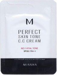 CC крем Missha M Perfect Skin Tone CC Cream SPF30 PA