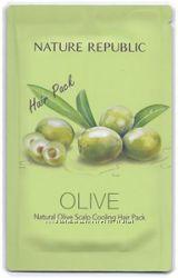 Маска для волос Nature Republic Nature olive Scalp Cooling Hair Pack