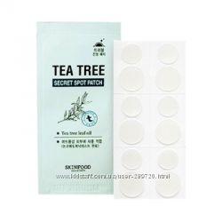 Пластырь от прыщей Skinfood Tea Tree Secret Spot Patch
