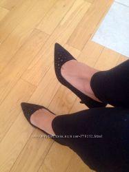 Новые туфли Calvin Klein  36 размер, черные, кожа
