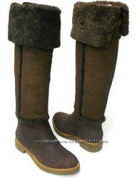 Новые замшевые сапоги на овчине Diane von Furstenberg 36 размер