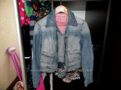 Джинсовая куртка Fracomina Италия