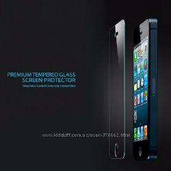 Закаленное стекло для  iPhone 5 5S 5C SE