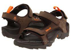 Босоножки для мальчика Teva Tanza Sport Sandals - Leather разм. US13