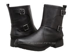 Деми ботинки CLARKS кожа р. US 8, 5М наш39. 5