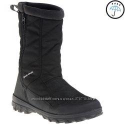 Зимние ботинки 32, 33 размер QUECHUA ARPENAZ 500 WARM CHILDREN&acuteS SNOW