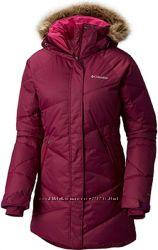 Очень тёплая зимняя куртка-пуховик Columbia Lay D´ Down Mid Jacket р. M, XL