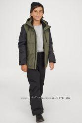 Тёплые зимние штаны H&M на 8-9лет