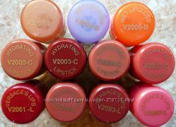 Помада и блеск Versace Hydrating Lipstick, Wet Cream Lipgloss тестер