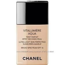 Тональный крем Шанель Perfection Lumiere SPF 15 и Vitalumiere SPF 15