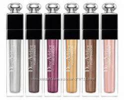 Стойкие тени - подводка с зеркальным блеском Dior Addict Fluid Shadow Fard