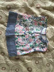 Хлопковая блуза на девочку 5-6 лет Gymboree идеального состояния