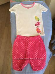 Ночные костюмы на девочку 4-6 лет Gymboree, H&M