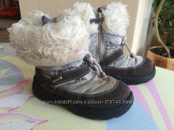 Сапожки зимние Chicco Tex 27р, 17 см