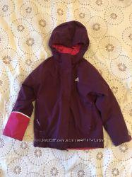 Демисезонная курточка Адидас 7-8 лет три в одном на флюсовой подкладке