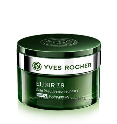 Ночной Крем  Yves Rocher Реактиватор Молодости 50мл.