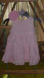шикарное платье и повязка 6м-1, 5г