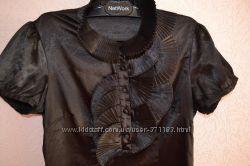 Блуза черная Monton элегантная
