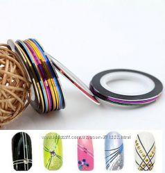 Стразы, ленты для декора ногтей Stamping Nail Аrt КИЕВ