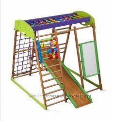 Детский спортивный комплекс для квартиры Карамелька