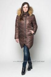 Куртка зимняя женская с мехом р. 44-52
