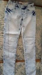 Джинсовые брюки MOTOR 28 на резинке