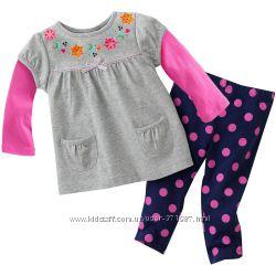 Трикотажные костюмы на девочек 1, 2, 3, 4, 5  лет - 10 расцветок