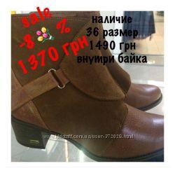 Кожаные ботинки, демисезон