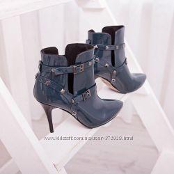 Модные, стильные ботиночки, натуральная кожа