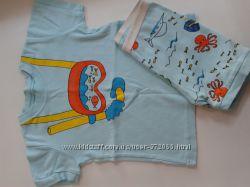 Летняя пижама для мальчика 4 лет