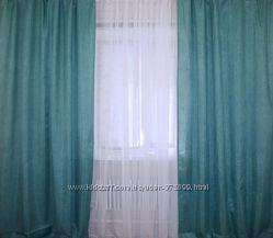 Ткань для штор лен мешковина