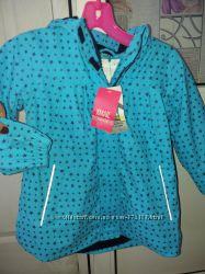 куртка для девочки 3 года прорезиненая  германия  супер