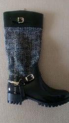Сапоги резиновые текстиль