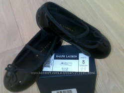 Туфли для девочки - Ralph Lauren, usa 8, кожа лак
