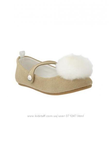 Туфли для девочки GAP 8 размер, оригинал США