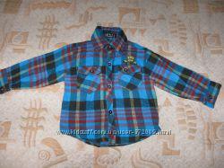 Рубашка байковая  для мальчика