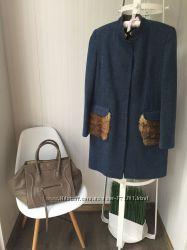 Дизайнерское Пальто  fendi, Gucci