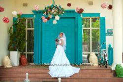продам шикарное счастливое свадебное платье, возможен торг
