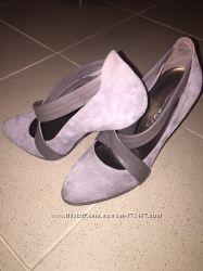 Італійські туфлі натуральний замш