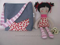 Сумочка для девочки с куклой