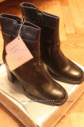 Ботинки на цигейке кожа Австрия р. 39