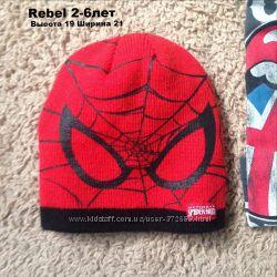 Шапка Spiderman Marvel Rebel 2-6лет