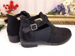 Закрытые туфли ботинки демисезонные