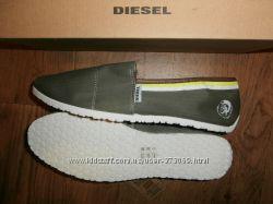 Diesel мужские эспадрильи мокасины слипоны Slip On Mens Canvas Shoes