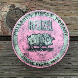 Reuzel PINK Heavy Hold Grease Pomade - Бриолин  Помада для волос